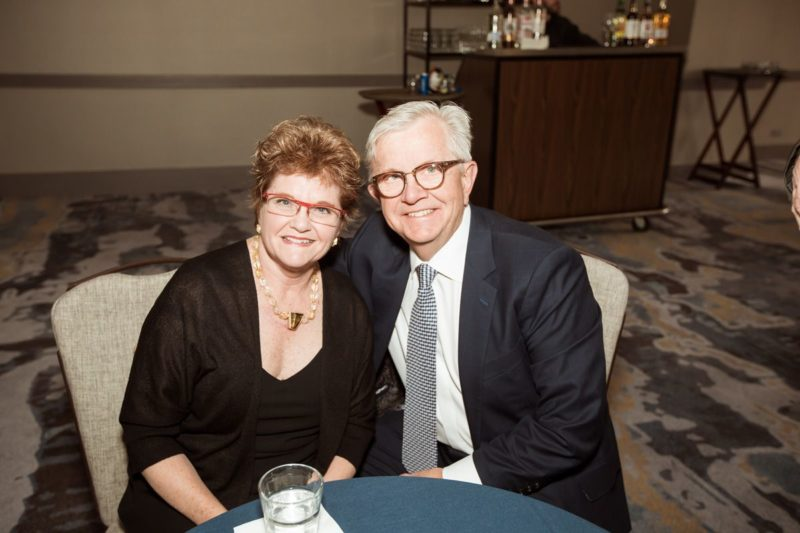 Tom and Jeanne Schnack at the Sponsor Pre-Party.