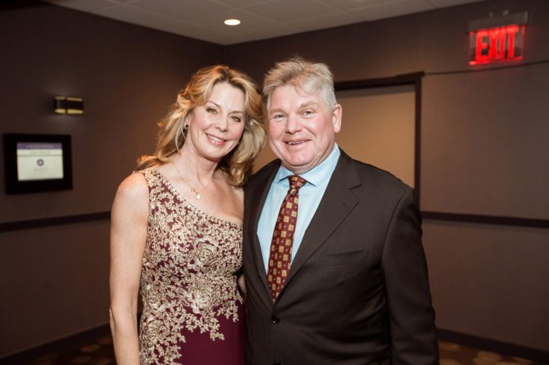 Groves Gala attendees – Mark and Kathleen Smith.