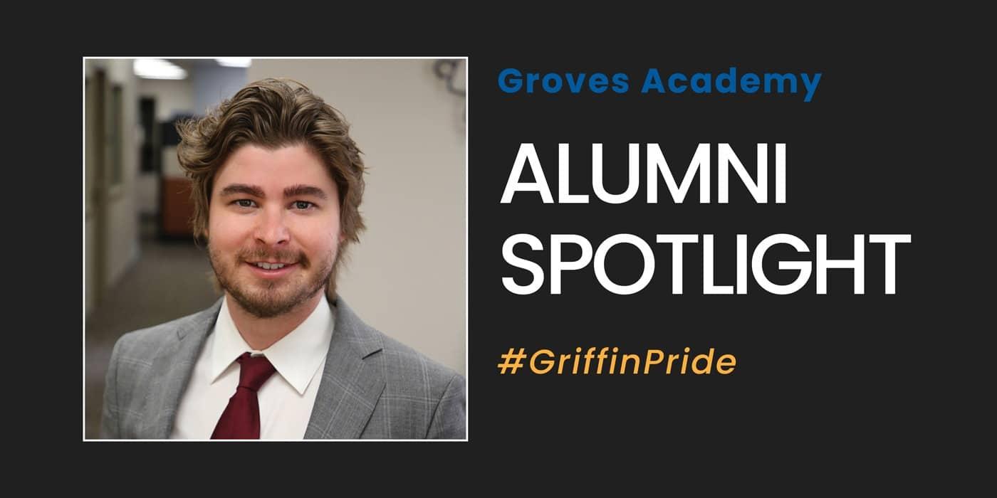 Groves Academy alumnus Kellen Burke