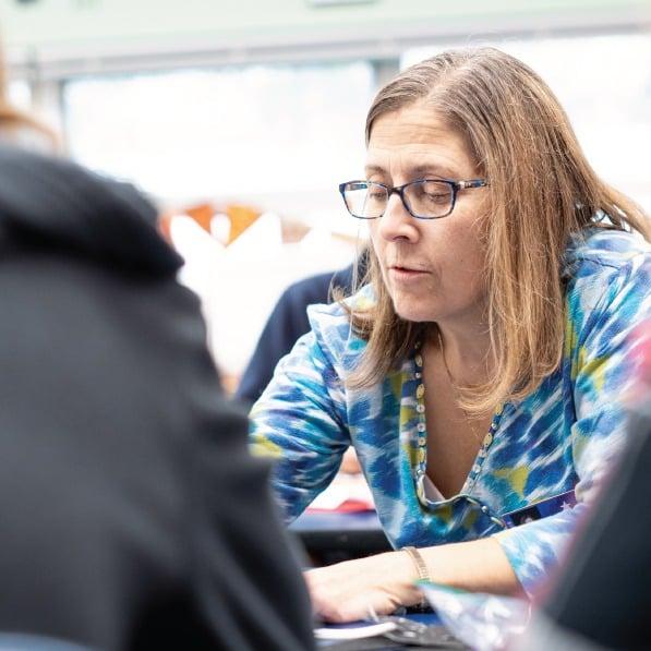 Groves Teacher teaching Home Science