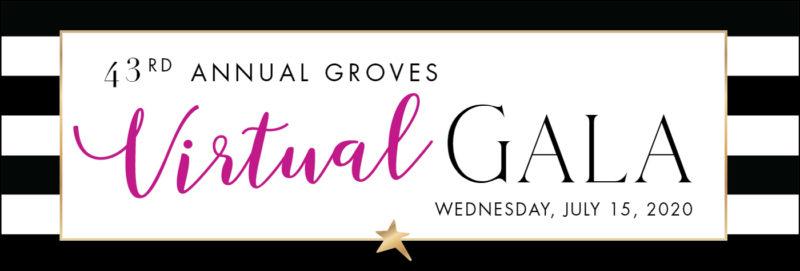 43rd Annual Groves Gala Invitation