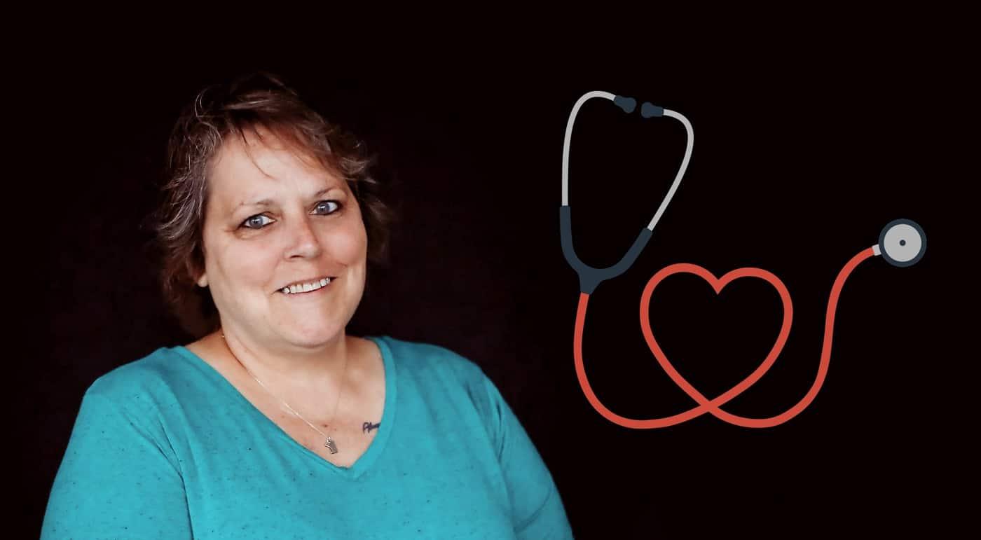 nurse Kelly Hopkins of Groves Academy