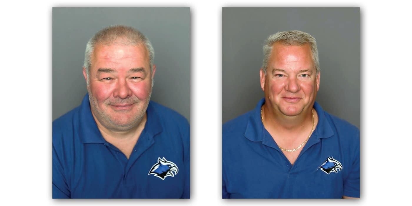 photos of Director of Facilities Todd Olson and Facilities & Maintenance Supervisor Aaron Billstrom