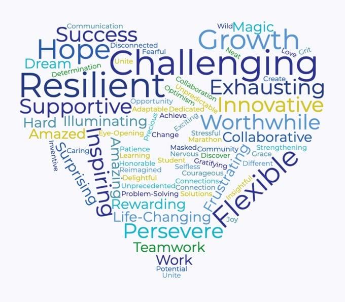 Groves faculty 2020-2021 word cloud