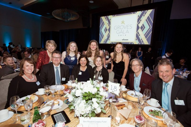 Gala Attendees and Sponsors – The Ben Ruedisili Legacy Fund.
